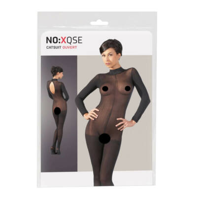 Catsuit with Lace Collar SM