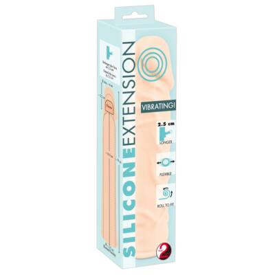 Silicone Extension Vibrating