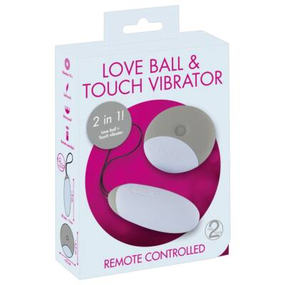 You2Toys Love ball - cordless, 2in1 vibrating egg (grey)