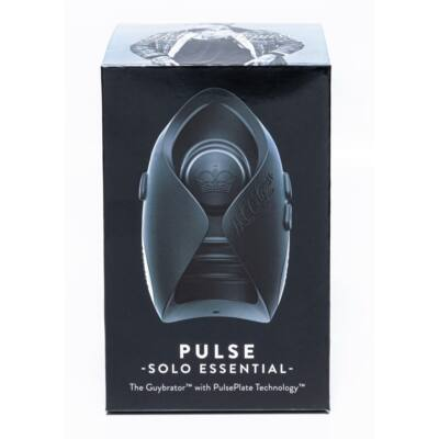 Hot Octopuss Pulse Solo Essential - Cordless Masturbator (Black)