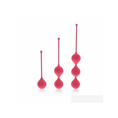 Cotoxo Belle - red kegel ball set (3pc)
