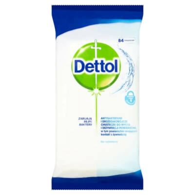 Dettol - antibacterial surface cleaning cloth (84pcs)