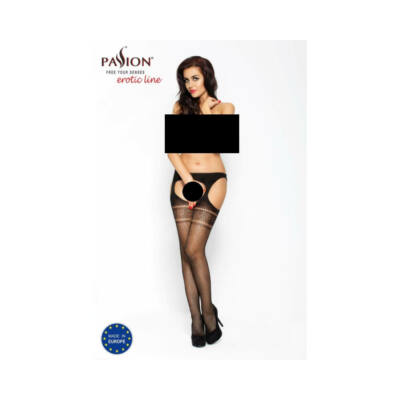 Passion BS002 - stockings (black)