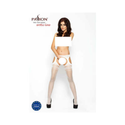 Passion BS002 - stockings (white)