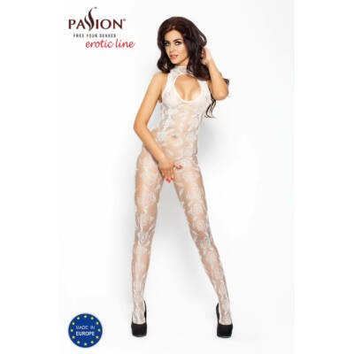 Passion BS009 - lace overal (white)